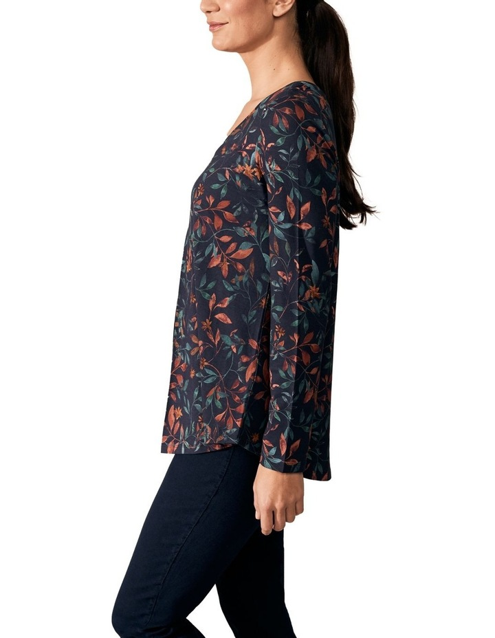 Pleat Front Jersey Top image 2