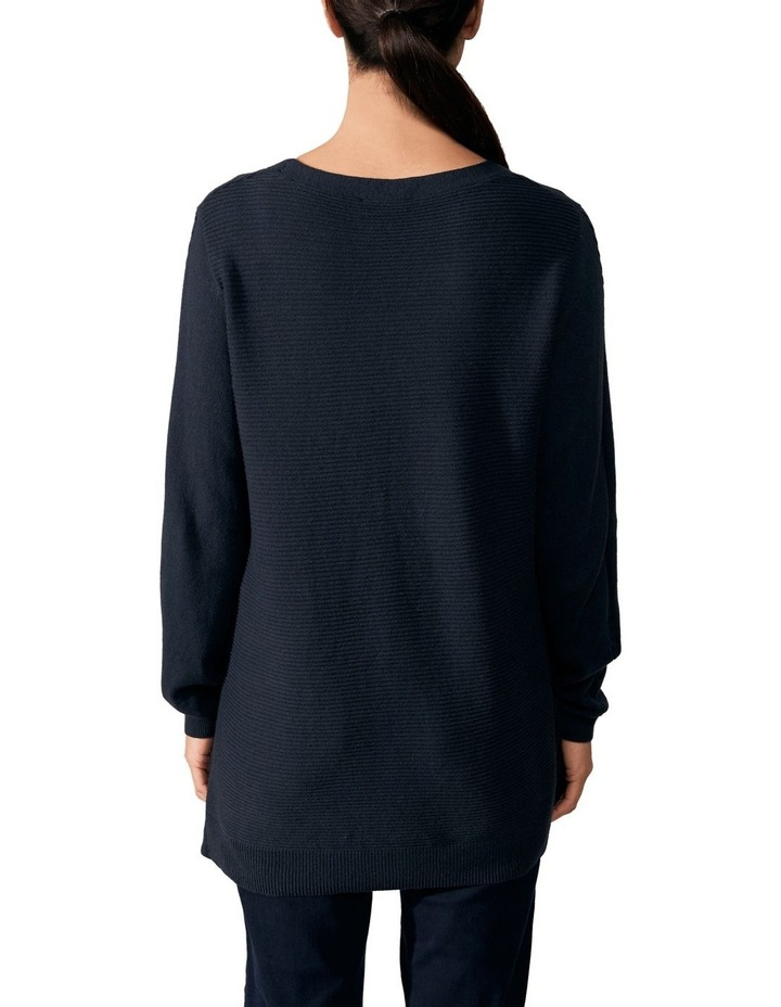 Cable V Neck Knit image 4