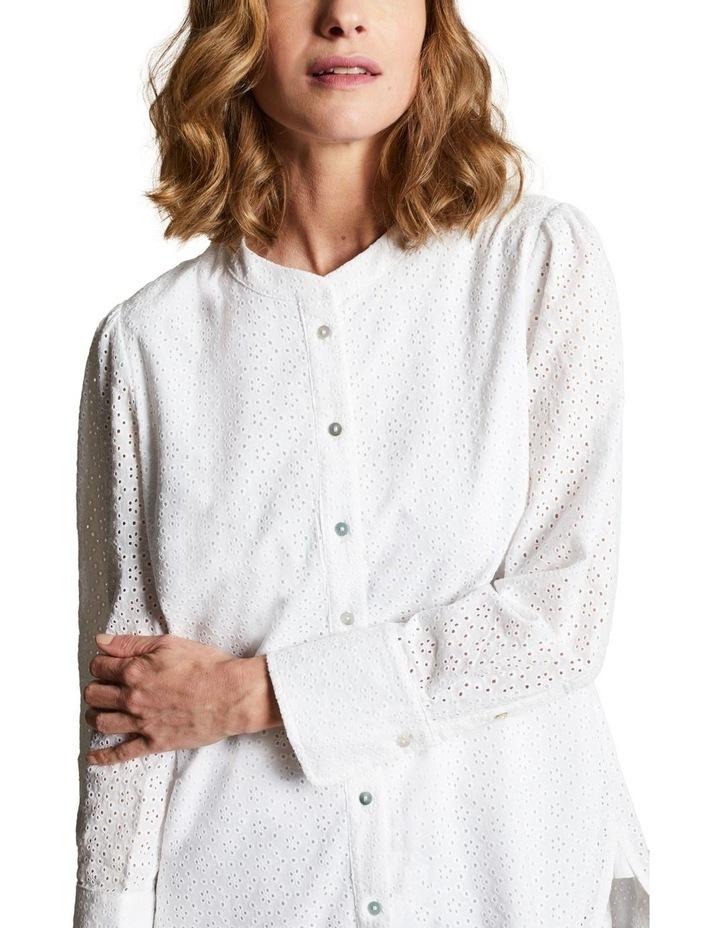 Embroidered Long Line Shirt image 2