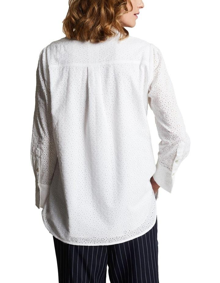 Embroidered Long Line Shirt image 3