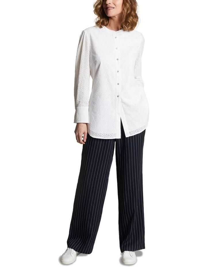 Embroidered Long Line Shirt image 4