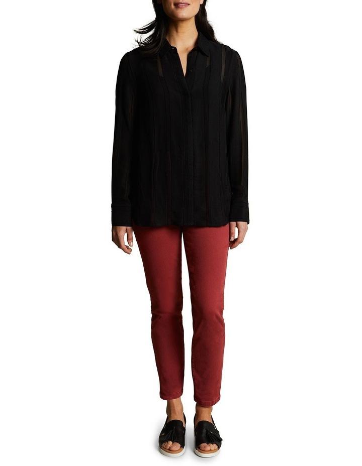 Stripe Jacquard Shirt image 1