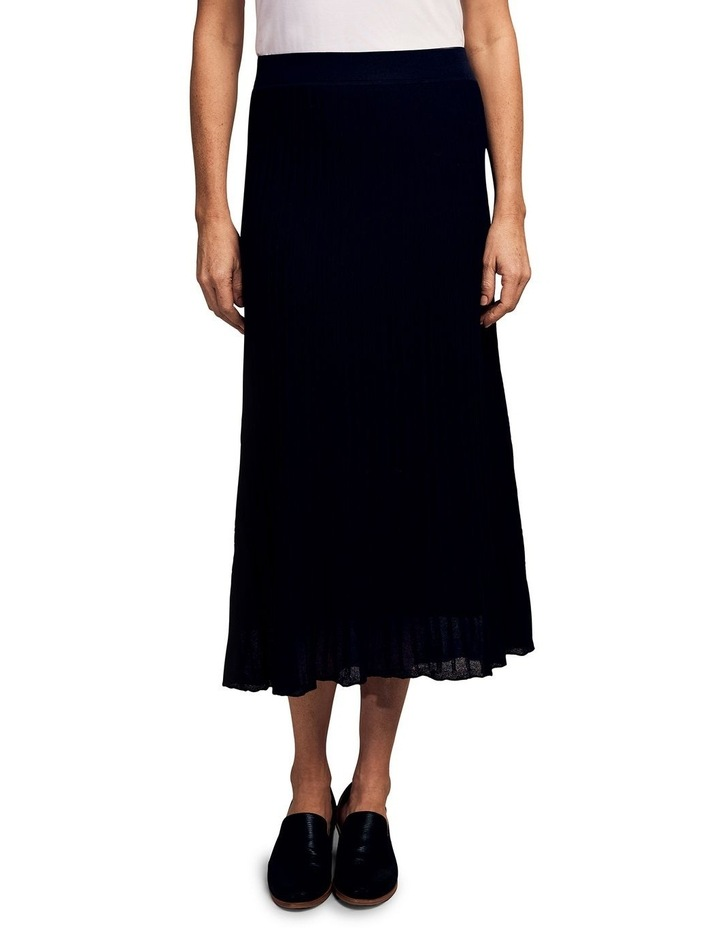 Knitted Pleat Skirt image 1