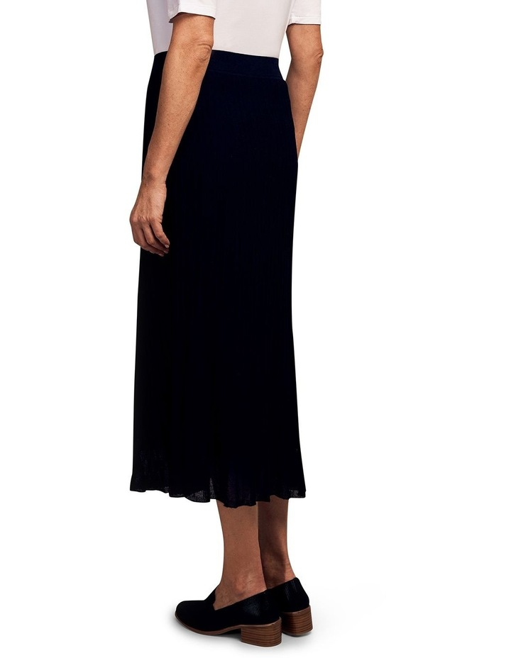 Knitted Pleat Skirt image 2