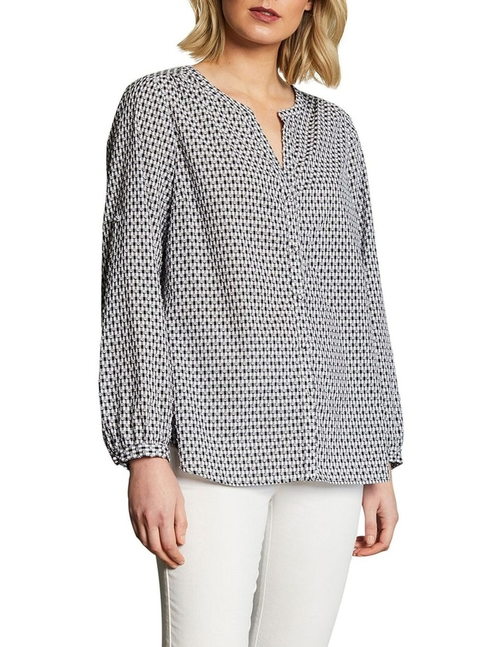 Cotton Clipped Jacquard Shirt image 1