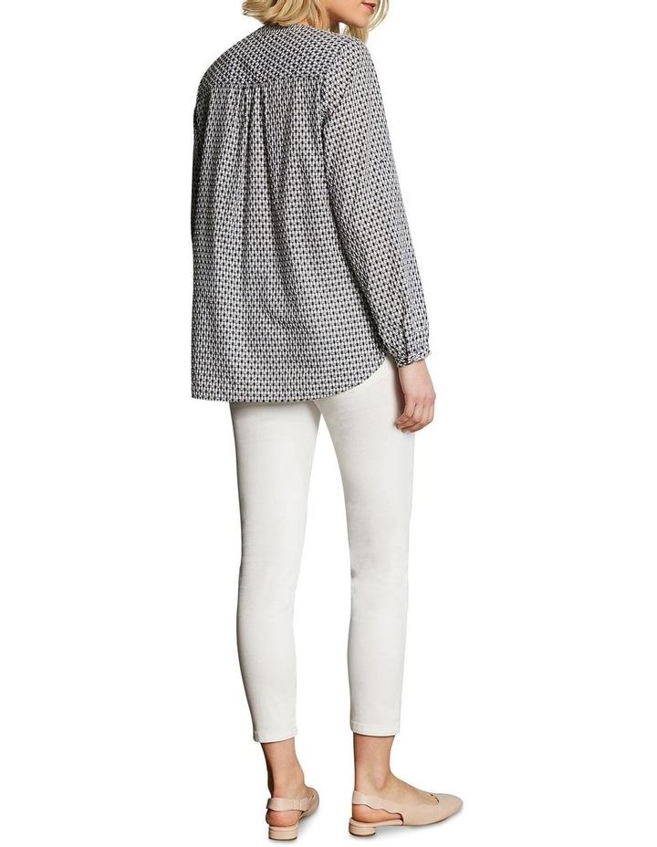 Cotton Clipped Jacquard Shirt image 3
