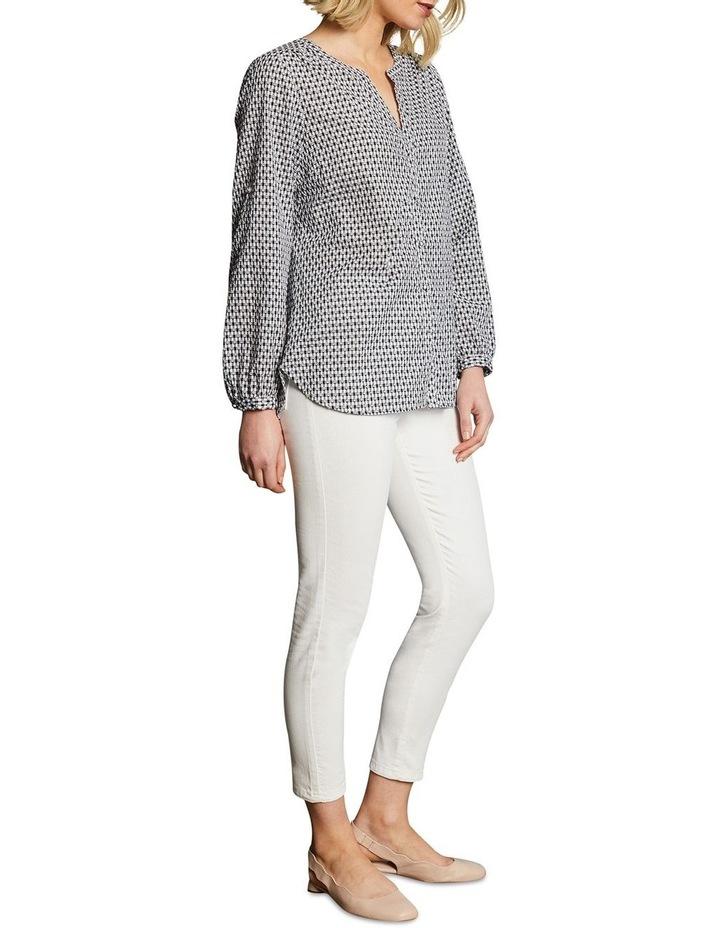 Cotton Clipped Jacquard Shirt image 4