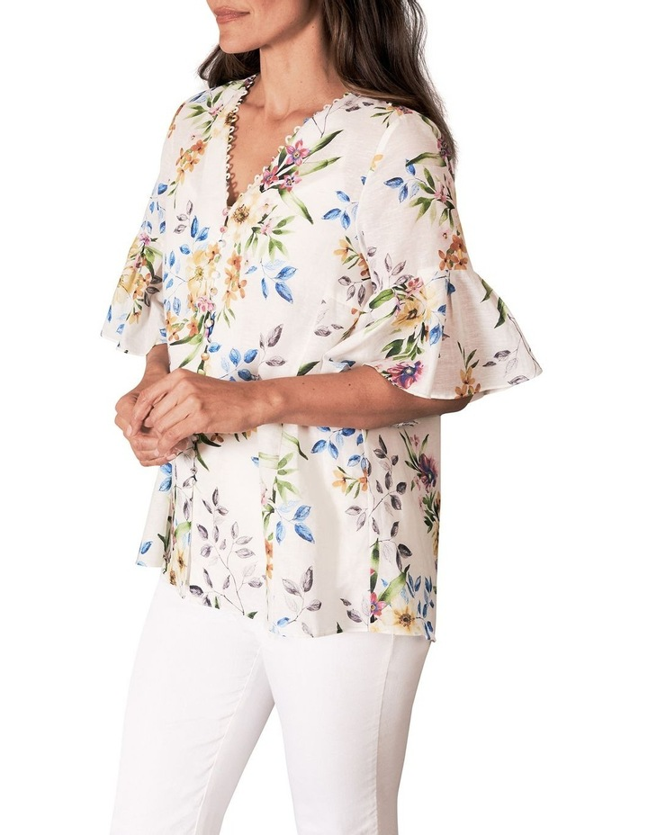 Frill Sleeve Top image 6