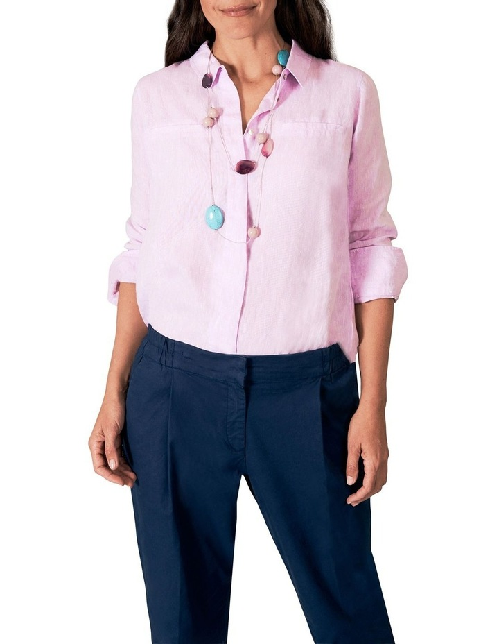Basic Linen Shirt image 5