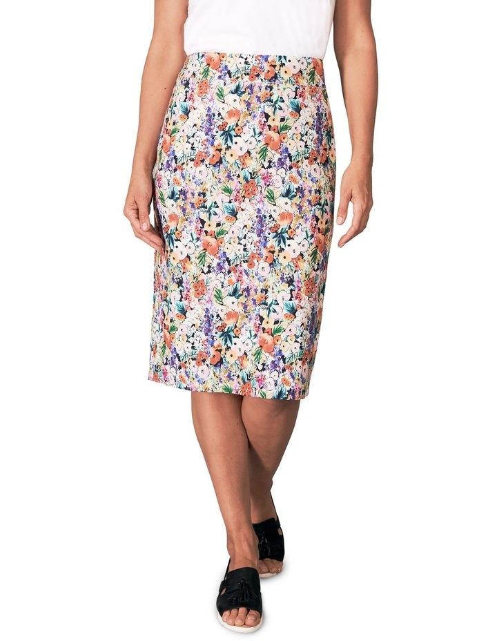 Floral Print Skirt image 1
