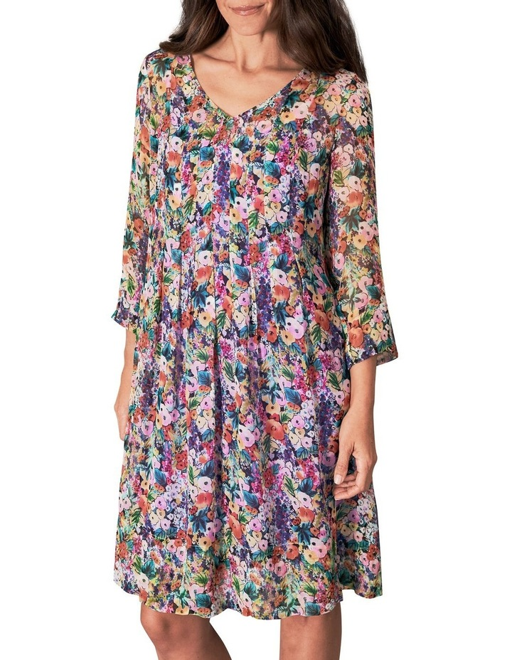 Printed Georgette Dress image 1