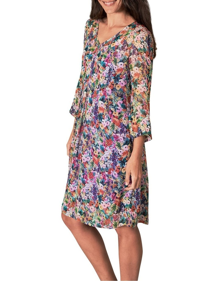 Printed Georgette Dress image 3
