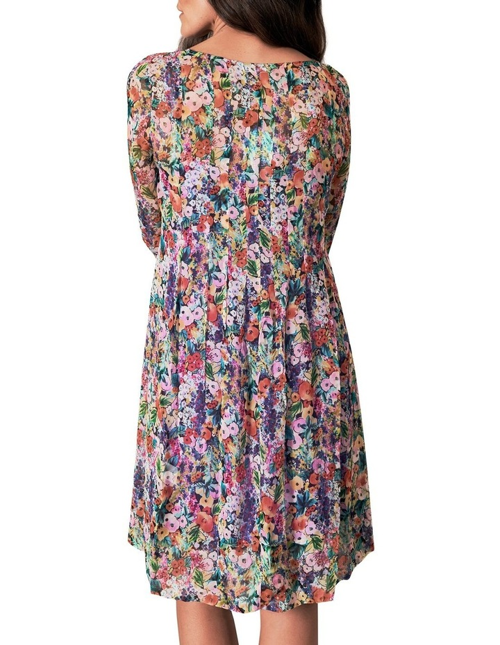 Printed Georgette Dress image 4