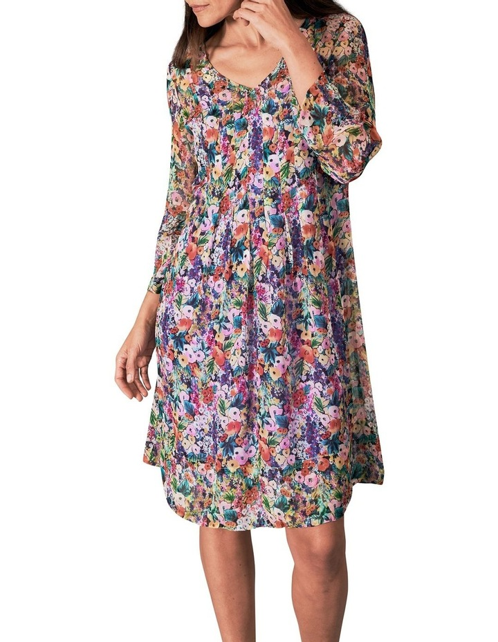 Printed Georgette Dress image 5