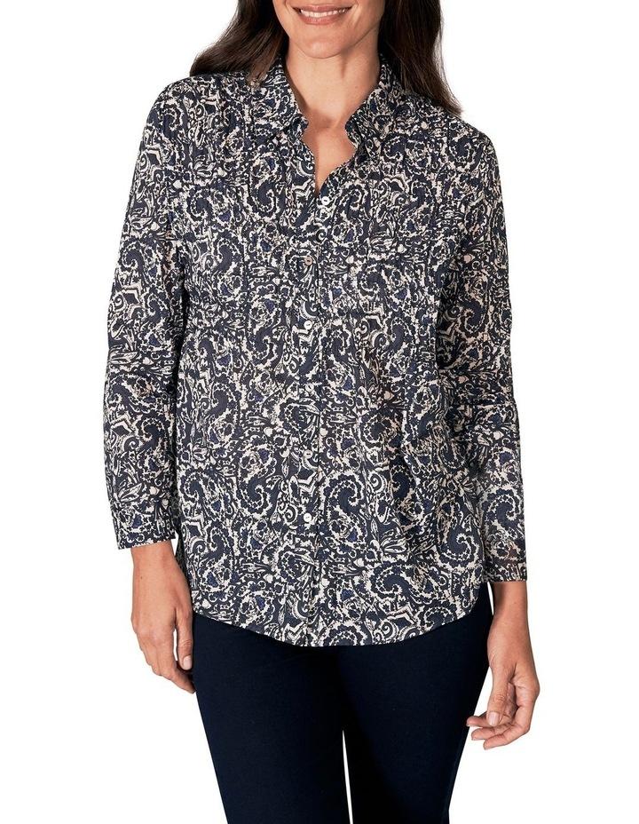 Shirred Cotton Shirt image 1