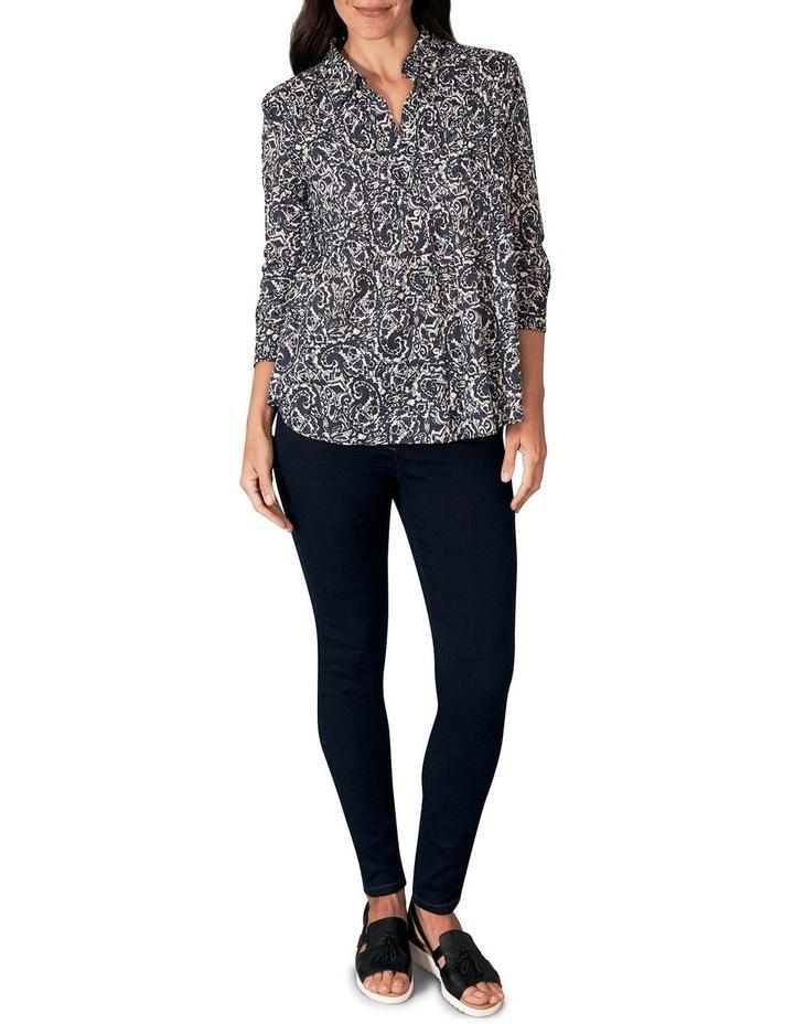 Shirred Cotton Shirt image 2