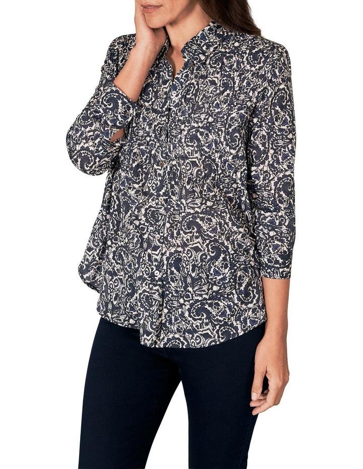 Shirred Cotton Shirt image 4