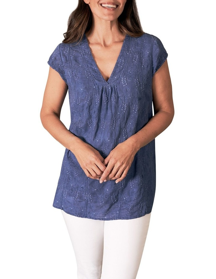 Cotton Embroidered Top image 1