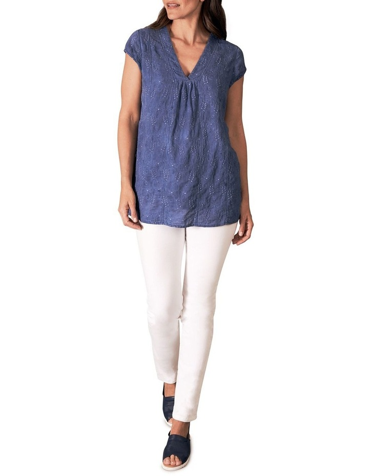Cotton Embroidered Top image 2