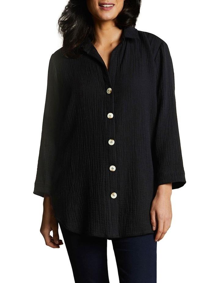 Textured Cotton Shirt image 1