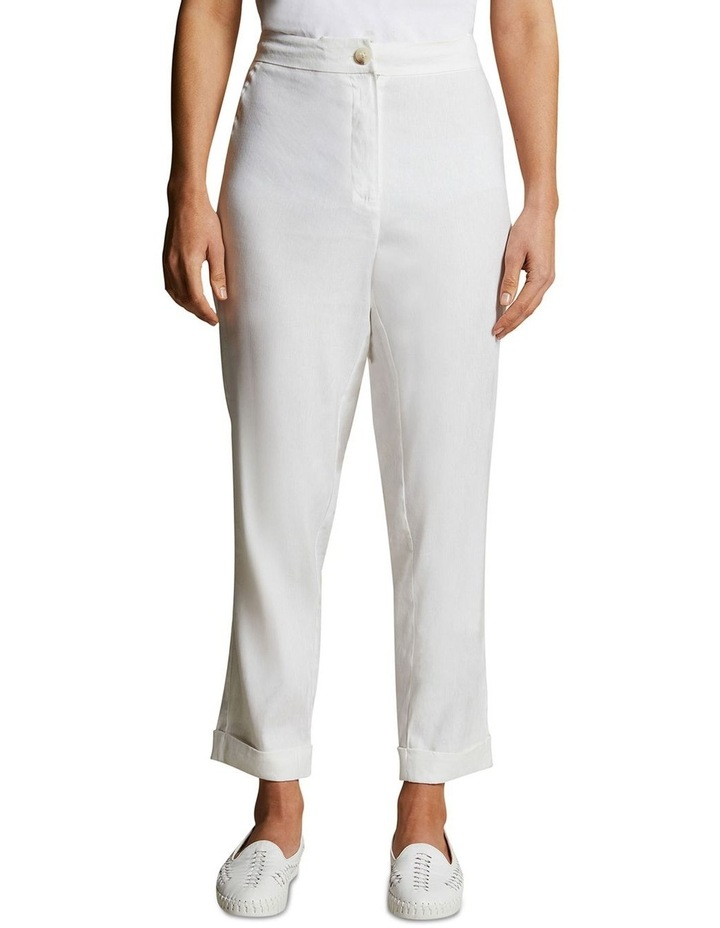 Relaxed Jogger Linen Pant image 1