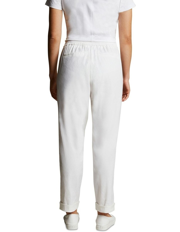 Relaxed Jogger Linen Pant image 3