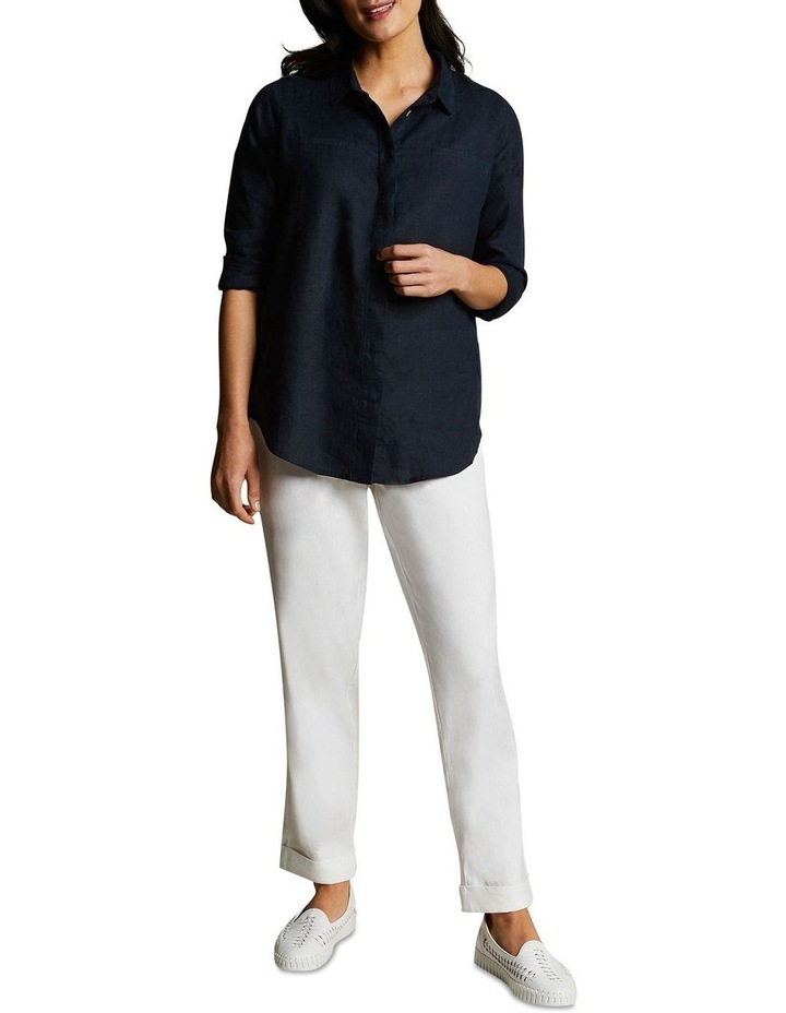 Relaxed Jogger Linen Pant image 4