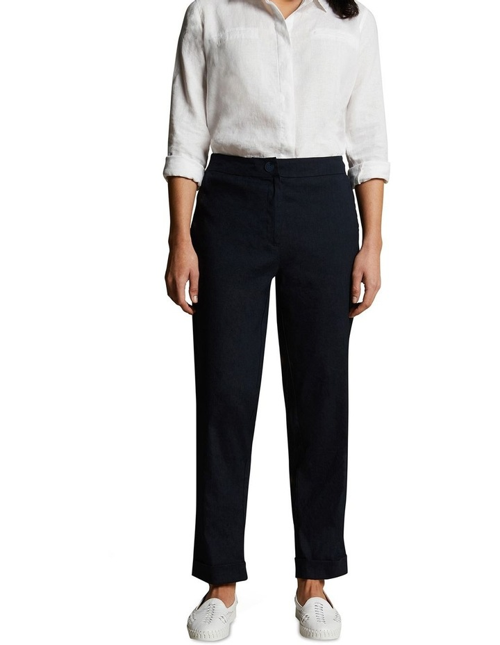 Relaxed Jogger Linen Pant image 2