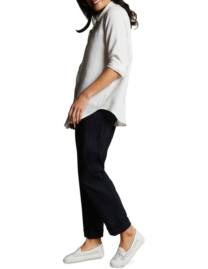 Relaxed Jogger Linen Pant image 5