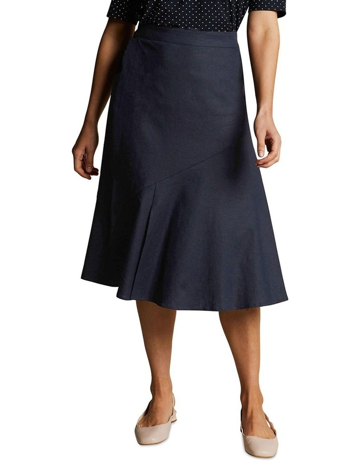 Stretch Linen Skirt image 1