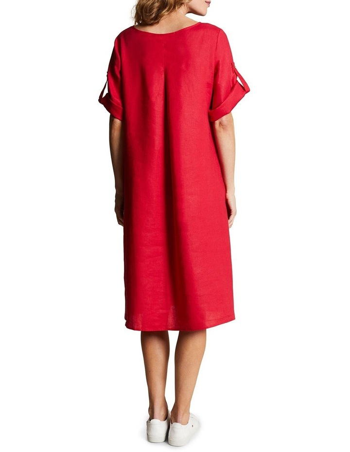 Linen Shift Dress image 3