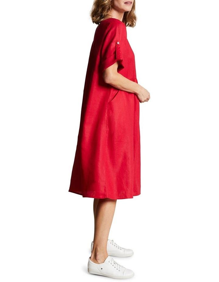 Linen Shift Dress image 4