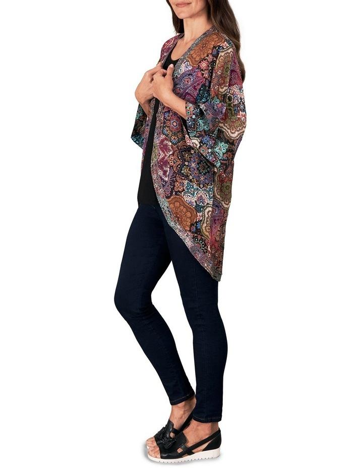 Embellished Silk Kaftan image 2