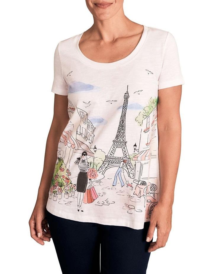 Parisian Cotton Slub Tee image 1
