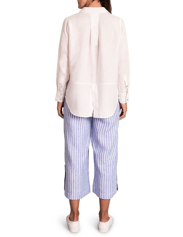 Stripe French Linen Culotte image 2