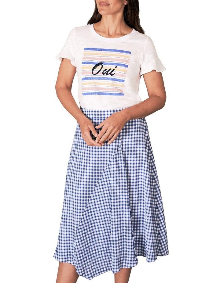 Cotton Gingham Skirt image 1