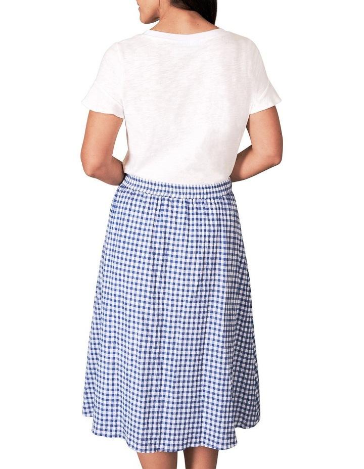Cotton Gingham Skirt image 2