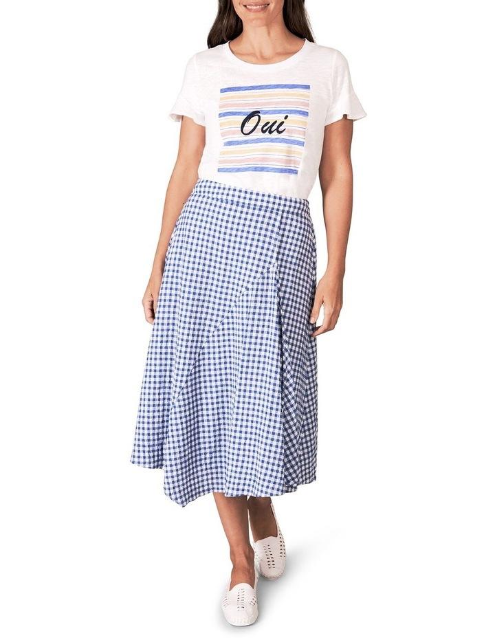 Cotton Gingham Skirt image 3