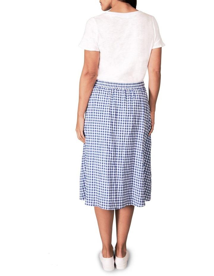 Cotton Gingham Skirt image 4