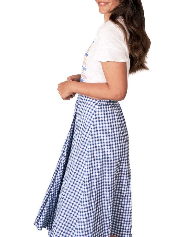 Cotton Gingham Skirt image 5