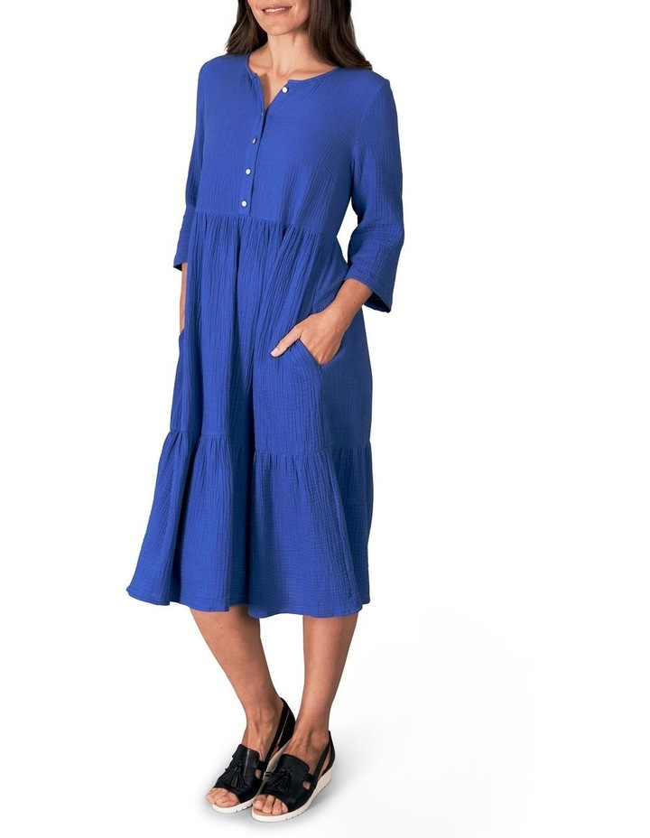 Lightweight Tiered Cotton Dress image 3