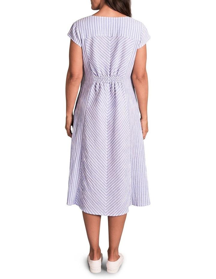 Panelled Cotton Dress image 2
