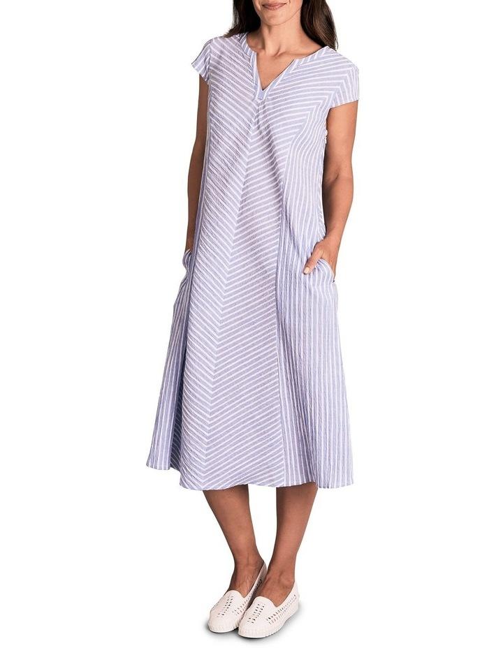 Panelled Cotton Dress image 3