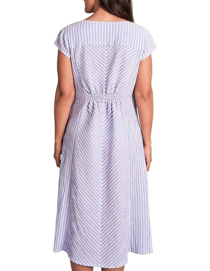Panelled Cotton Dress image 5