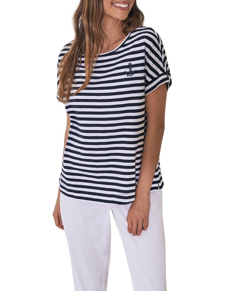 Stripe Anchor T-Shirt image 1