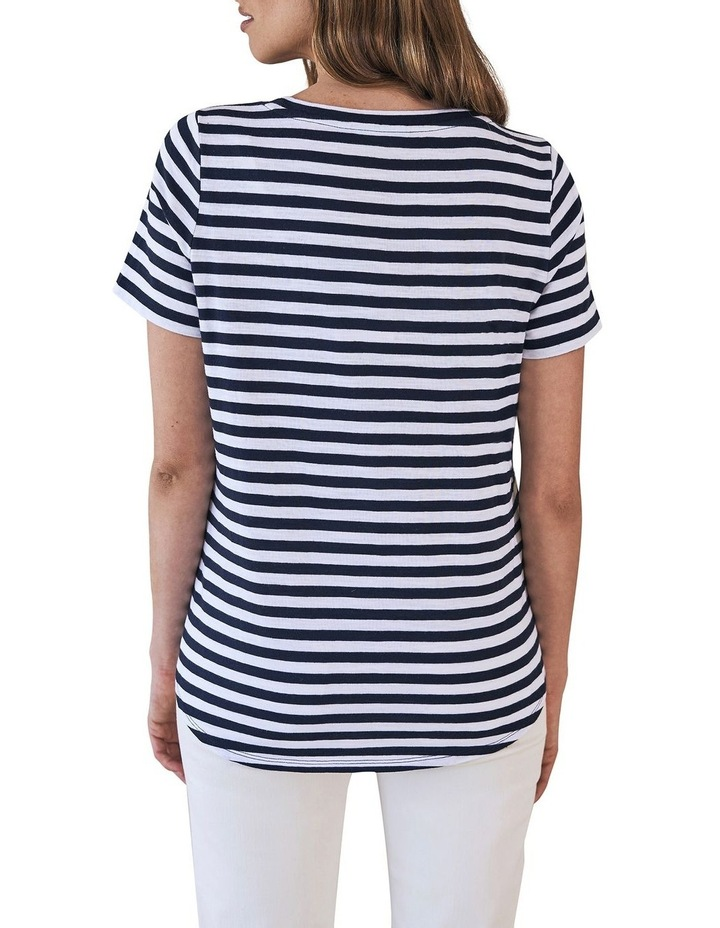 Stripe Anchor T-Shirt image 3