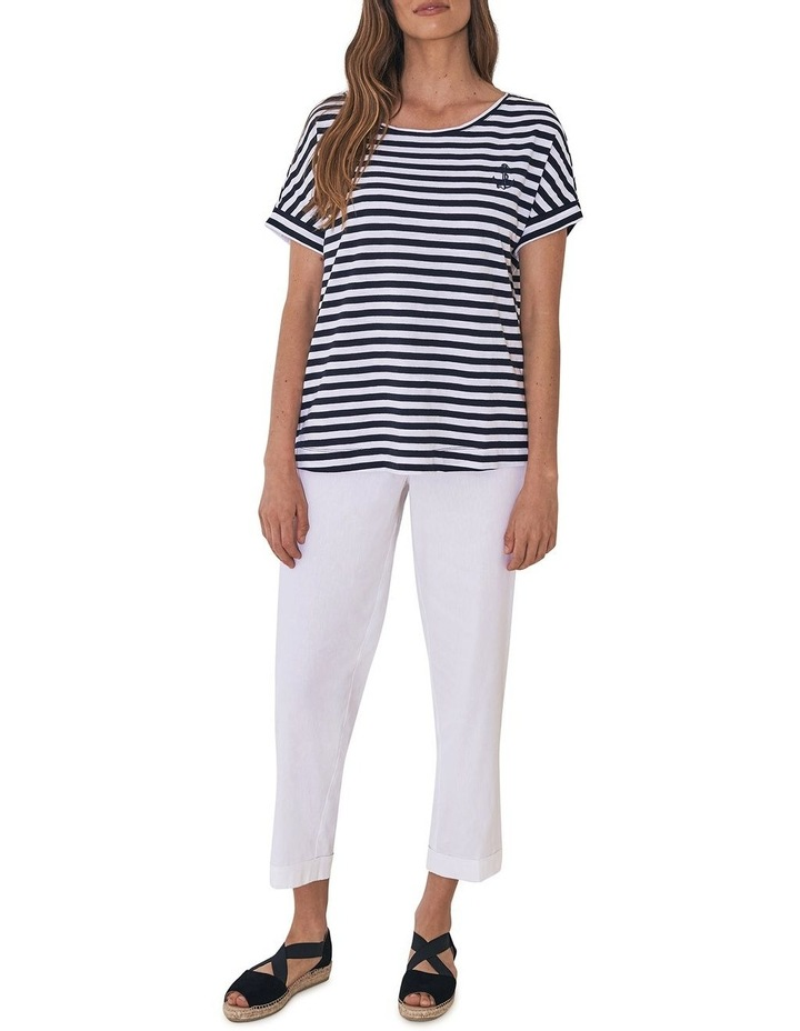 Stripe Anchor T-Shirt image 5