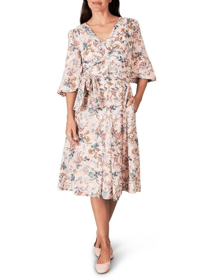 Heritage Print Wrap Dress image 1
