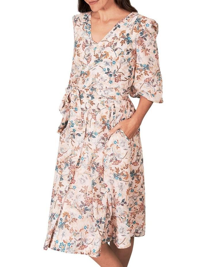 Heritage Print Wrap Dress image 2
