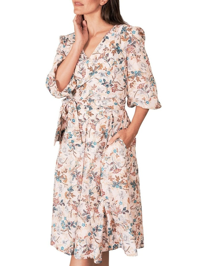 Heritage Print Wrap Dress image 3